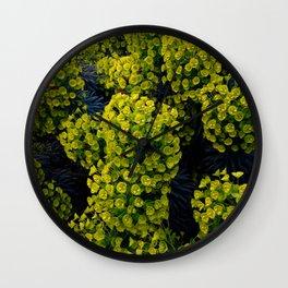 Euphoric Euphorbia Wall Clock