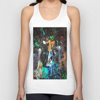 skateboard Tank Tops featuring skateboard street by  Agostino Lo Coco