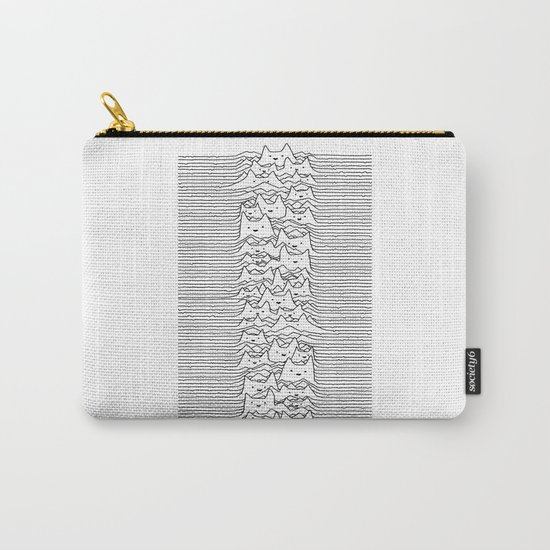 Furr Division White Carry-All Pouch