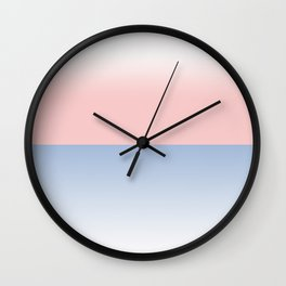 Back to back ombre Wall Clock