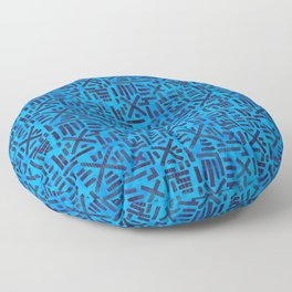 Water Floor Pillow