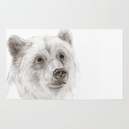 Grizzly :: A North American Brown Bear Rug