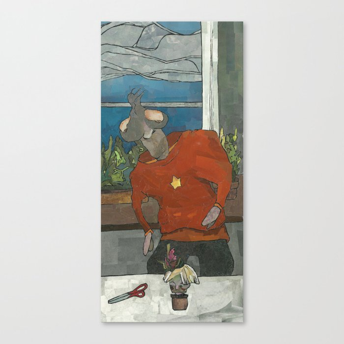 Henchman (Haircut) Canvas Print