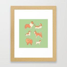 Dogs Framed Art Print
