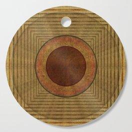 """Golden Circle Japanese Vintage"" Cutting Board"
