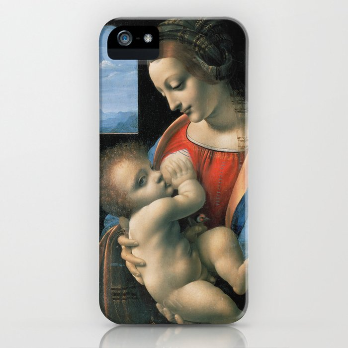 "Leonardo da Vinci ""Madona Litta"" iPhone Case"