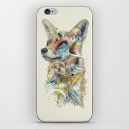 Heroes of Lylat Starfox Inspired Classy Geek Painting iPhone Skin