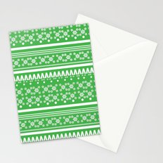 Christmas Jumper Green Stationery Cards