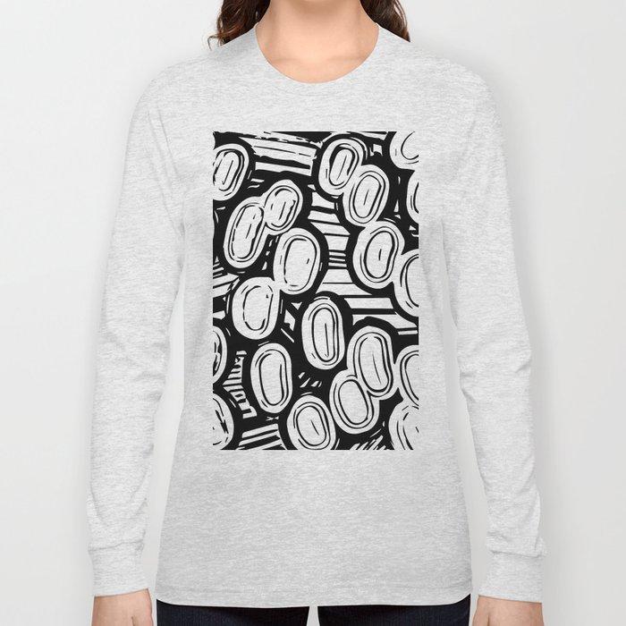 Let's go black&white Long Sleeve T-shirt