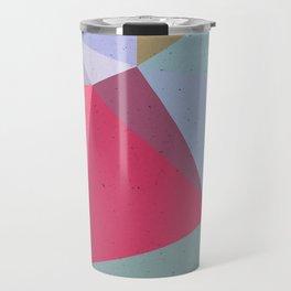 Colourful geometry Travel Mug