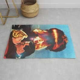 Love on Fire Rug