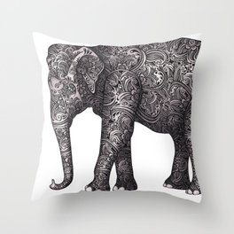 Decorative Elephant Throw Pillow