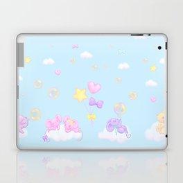Bubbly Mice Sky Laptop & iPad Skin
