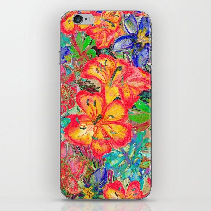 My Tropical Garden 6 iPhone Skin