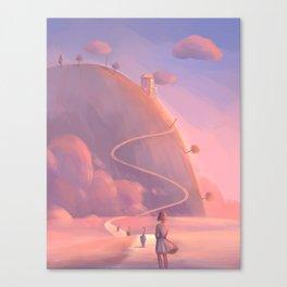 a nice place Canvas Print