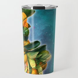 Small fruit tree in outer space Travel Mug