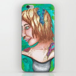 Geode Bust iPhone Skin