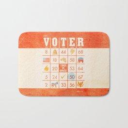 The Bingo Vote Bath Mat