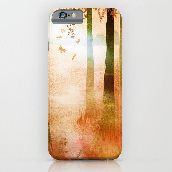 sunrise in autumn iPhone & iPod Case