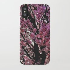 Spring tree iPhone X Slim Case