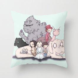 Neverending Plushies Throw Pillow