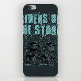 Riders on the Storm iPhone Skin