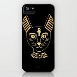 Cat goddess - Bastet iPhone Case