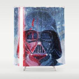 Darth Vader Storm Shower Curtain
