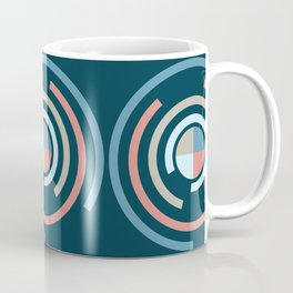 Colorful Circles V Coffee Mug