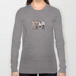 The Office 8-Bit Long Sleeve T-shirt