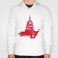 washington dc Hoodies featuring Washington DC  by ialbert
