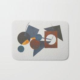 Constructivistic painting Bath Mat