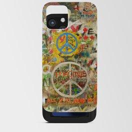 Peace Sign - Love - Graffiti iPhone Card Case
