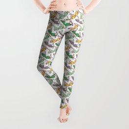 Multicolored Bra Pattern Leggings
