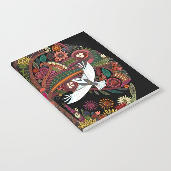 tree of life black Notebook
