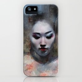 The ikebana woman iPhone Case
