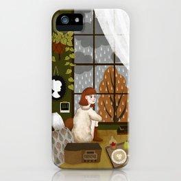 quiet morning iPhone Case