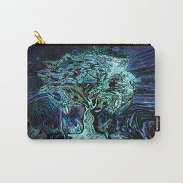 Starry Night Tree of Life Carry-All Pouch