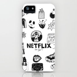 netflix and kill iPhone Case