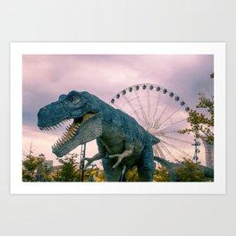 The Modern Dinosaur Art Print