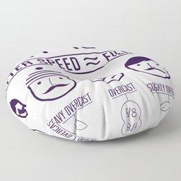 Sunny 16 - 2012 edition Floor Pillow