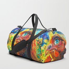 I Have My Eye On You Duffle Bag