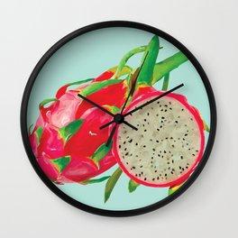 Dragon Fruit Wall Clock