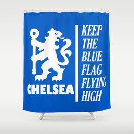 Slogan: Chelsea Shower Curtain
