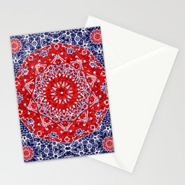 Maltesse Mandala Bandana Stationery Cards