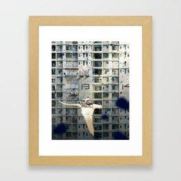 Hometown Hero Framed Art Print