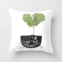 Oak Baby Throw Pillow