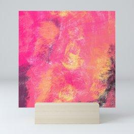 Il riflesso dei tramonti felici Mini Art Print