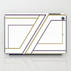Geometry on white (abstract) iPad Case