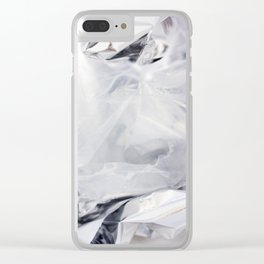 CHRYSTAL HEALING Clear iPhone Case